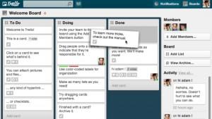 Management Tools Trello screenshot