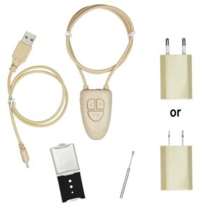 BLUETOOTH EARPIECE KIT WITH SOS HAND BUTTON and MP3 PLAYER CONTROL