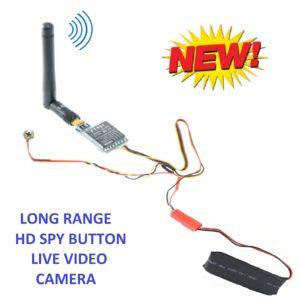 NO INTERNET LONG RANGE HD SPY BUTTON CAMERA