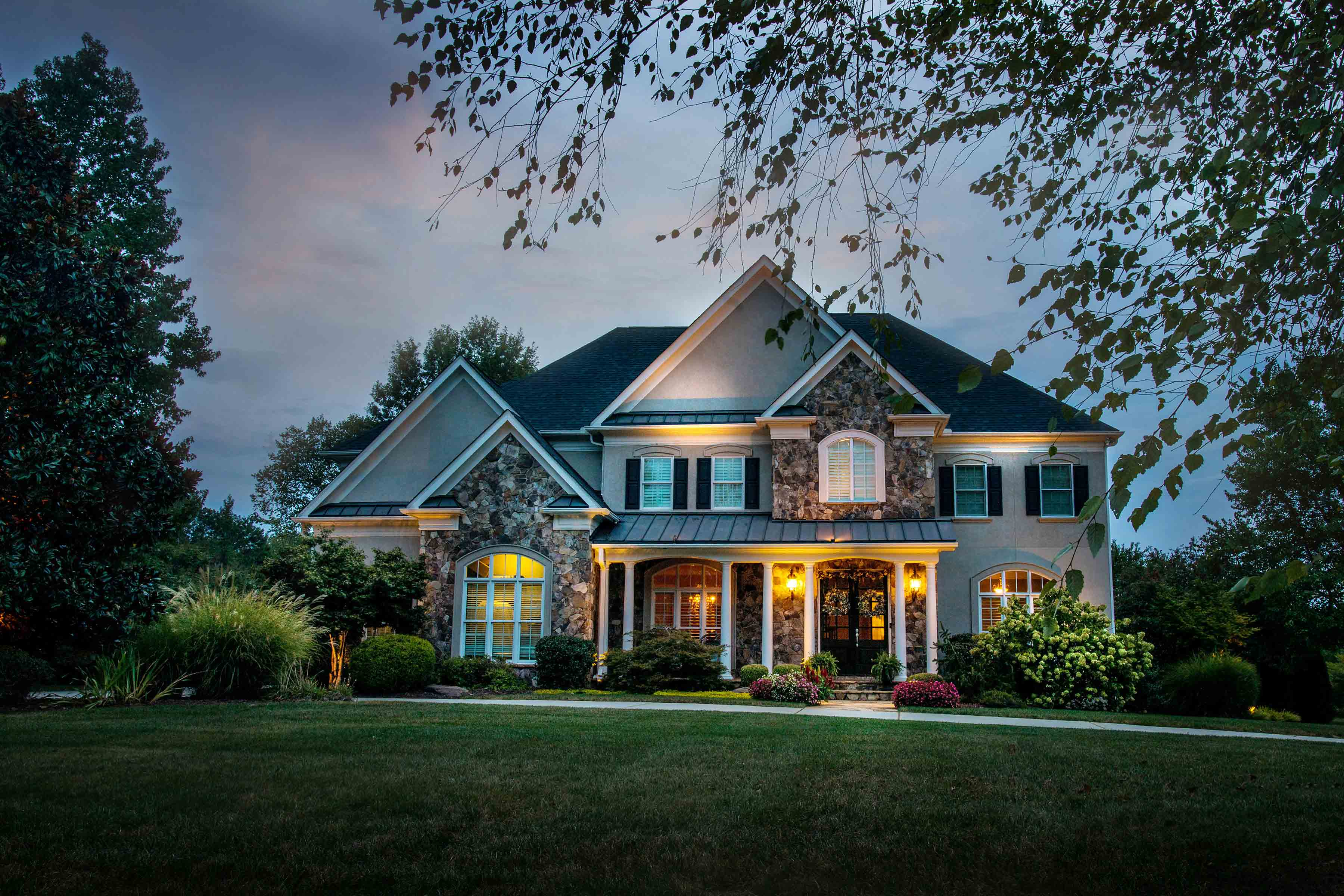 Landscape Lighting Home