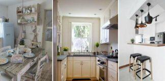 15 cocinas muy bonitas para casas pequeñas