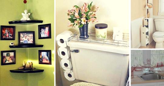 Aprende estas útiles ideas para colocar estanterías en toda la casa. Hay muchos diseños