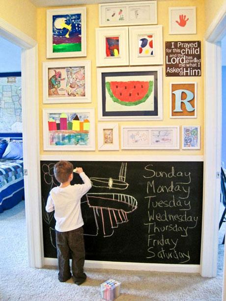 Deja un espacio para que tu hijo libere su creatividad