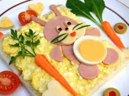 10 ideas para decorar la comida de los niños. ¡Se comerán todo!
