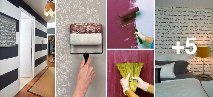 10 ideas para pintar tus paredes de forma única