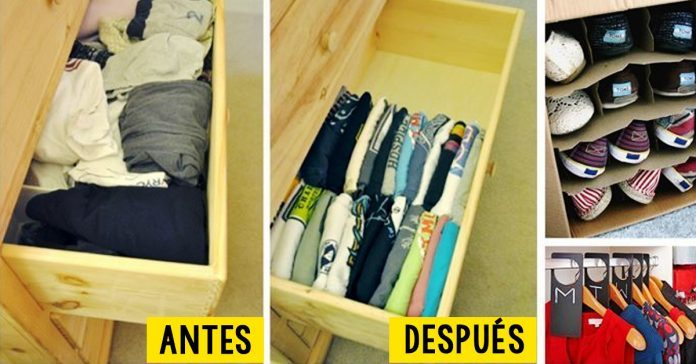 Aprende a organizar tu hogar de manera inteligente con estos 10 trucos de organización