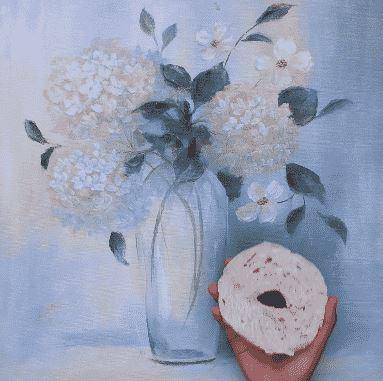 El pan bagel elimina el polvo de tus cuadros