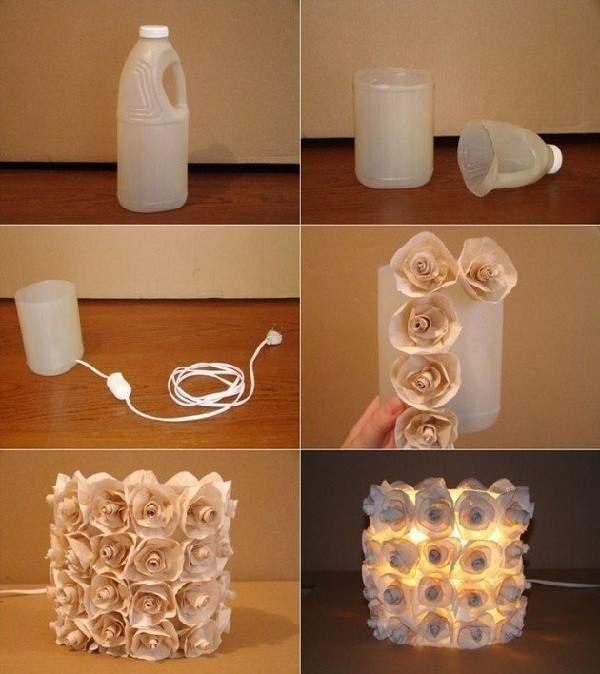 Flores de plástico