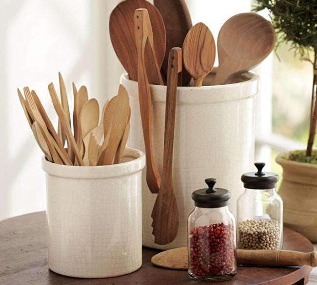 Hierve las cucharas de madera y secalas al sol