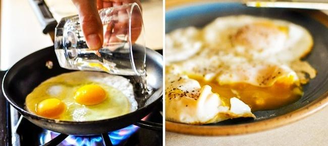La manera correcta de cocinar huevos poché