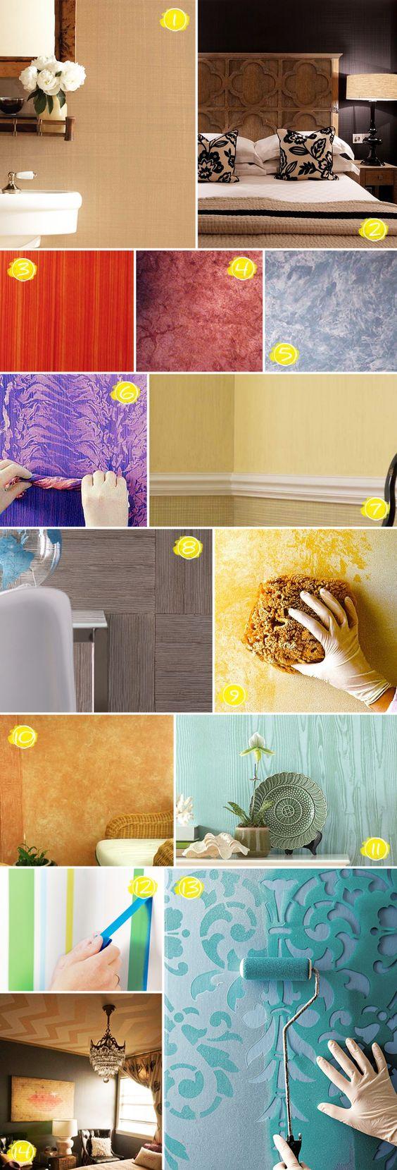 Textura en tu vivienda
