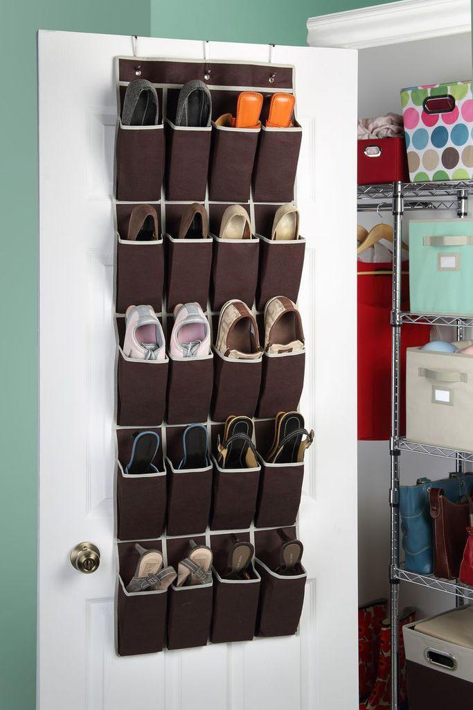 Colgador de tela para zapatos