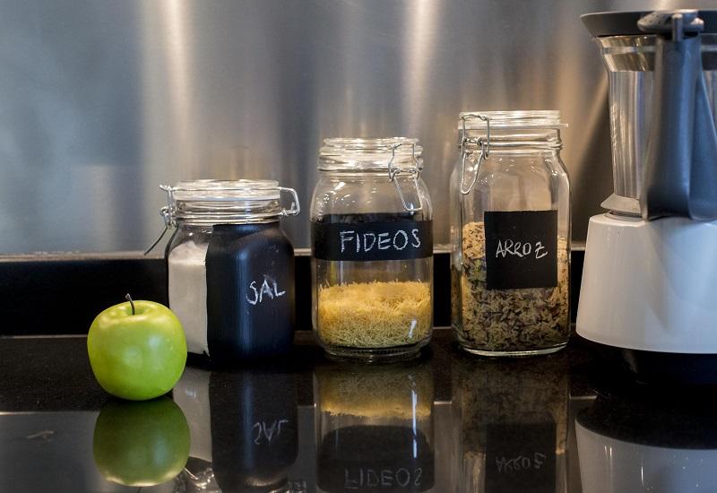 Recipientes de cristal para tu cocina