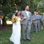 Juli & Jeff, newly married