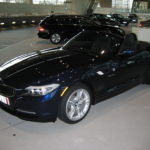 This is my 2010 BMW Z4 sDrive30i. In November 2009, I flew to Munich, Germany to take delivery of it at BMW Welt (a fabulous facility!) and it then took two months to arrive in the US.