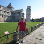 At Leaning Tower of Pisa (June 2015)