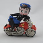 Betty Boop on motorcycle