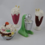 Ice cream sundae, milkshakes, & mixer