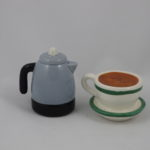Coffee pot & cup