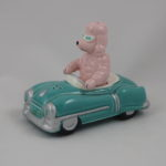 Poodle driving