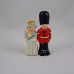 Queen of England & palace guard