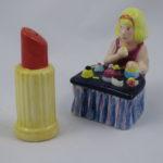 Lipstick & make-up table