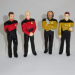 Riker, Picard, Worf, & Data