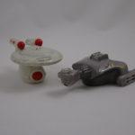 USS Enterprise & Klingon ship