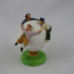 Three Stooges golfball