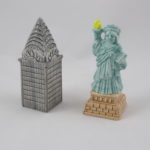 Chrysler Building & Statue of Liberty
