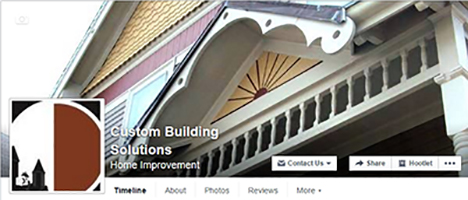 Custom Building Solutions – Facebook