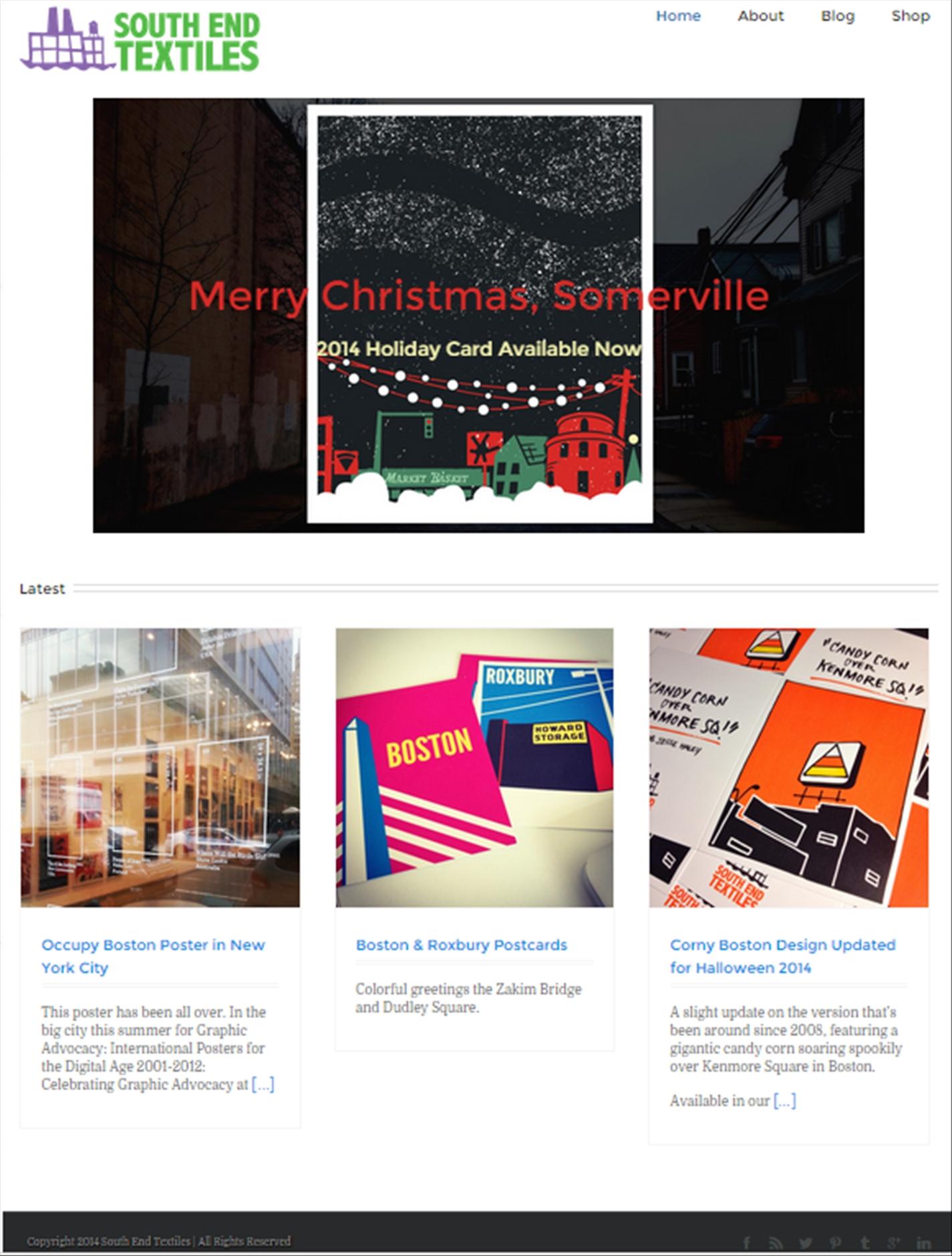 South End Textiles – Website
