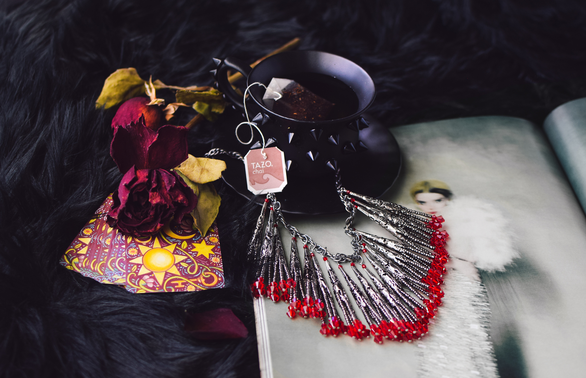 DIY Dracula Necklace - by Quiet Lion Creations