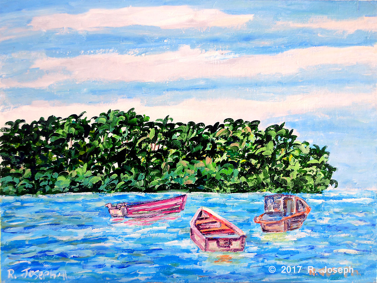 Boats Adrift- The Cocal