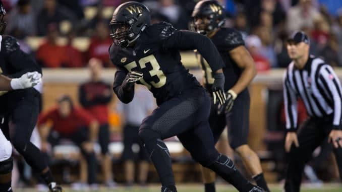 Duke Ejiofor - 2018 NFL Draft