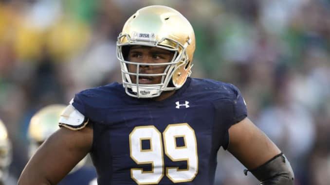 2019 NFL Draft: Jerry Tillery, DT, Notre Dame