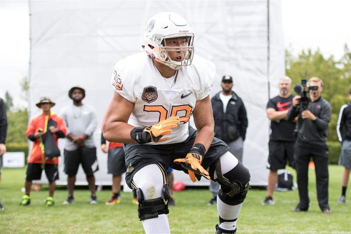Foster Sarell 2021 NFL Mock Draft