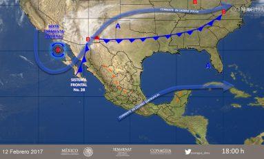 Ambiente frío, lluvias y fuertes vientos para Chihuahua: SMN