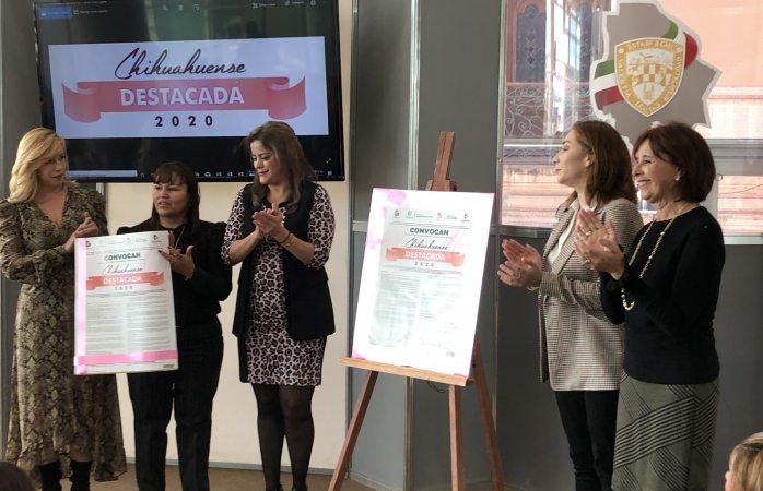Presentan convocatoria al mérito de la mujer destacada 2019