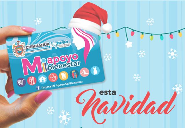 """Invita Municipio a utilizar la tarjeta """"Mi apoyo, Mi bienestar"""" en compras navideñas"""