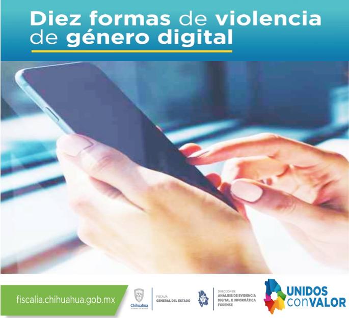 """Trabaja FGE en prevención de la """"violencia digital de género"""""""