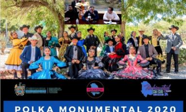 "Invita Municipio a la fiesta del folklore ""Luz y Sombras Polka Monumental 2020"""