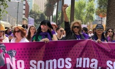 """Famosas también que se unieron a la """"Mega Marcha Contra la Violencia a la Mujer"""""""