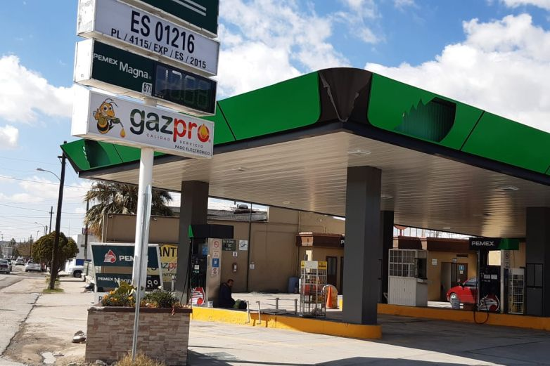 Gasolina Magna baja hasta 8.64 pesos el litro en Juárez