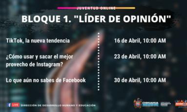 Transmitirá Municipio conferencias gratuitas para manejo de redes sociales