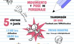 Municipio te invita al taller en línea Movimiento y pose de personaje