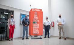 Recibe Seguridad Pública apoyo de Arca Continental para protección contra el COVID-19