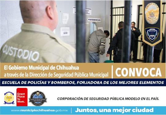 Sigue abierta convocatoria para Custodios de Barandilla en la Policía Municipal