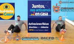 "Invita Municipio a participar en cápsulas deportivas ""Juntos, nos activamos en casa"""