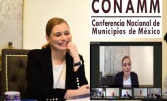 Participa Maru Campos en foro virtual con alcaldes de todo el país y sector empresarial